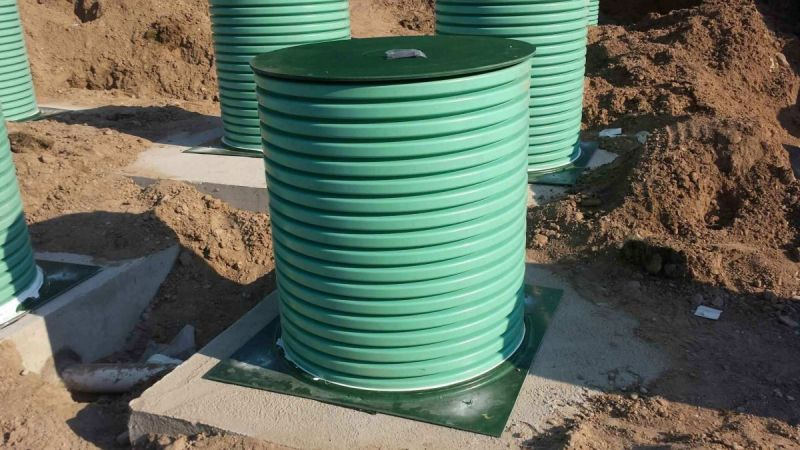 Corrugated Pipe For Septic Drain Field